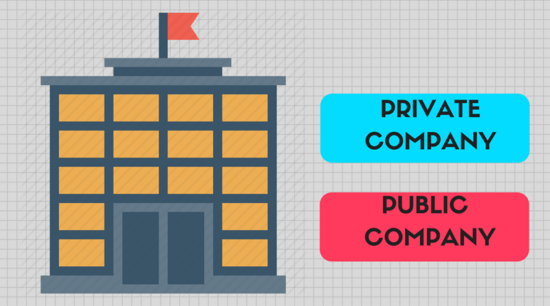 Difference Between Private and Public Limited Companies
