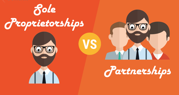 Difference Between Sole Proprietorship and Partnership - Startup Sutra