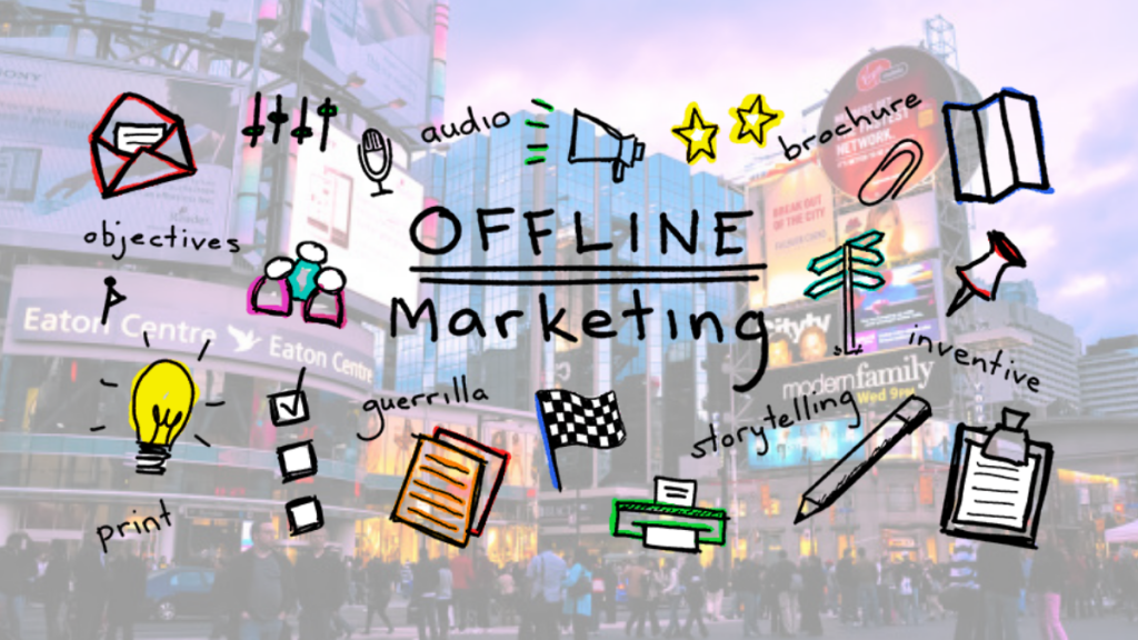 What is Offline Marketing?- Digital Marketing | Startup Sutra