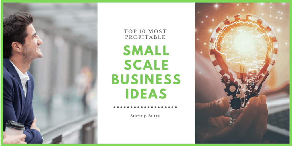 Small scale business ideas in India