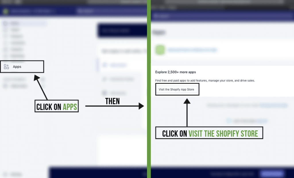 Install App on Shopify