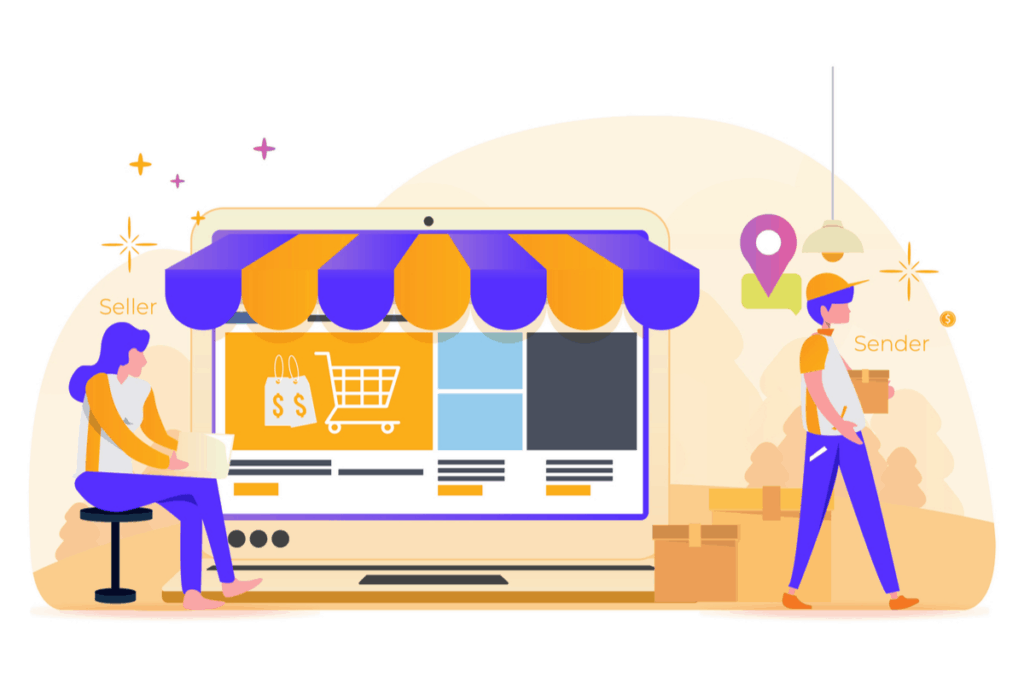 dropshipping graphic vector | best business ideas in india to start in 2019 | starup sutra